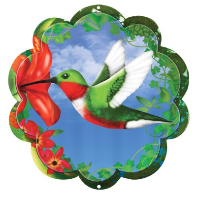 Windspinners Windspinners klein Animated Hummingbird disc 15 cm  (ISAD250-6)