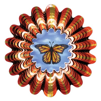 Windspinners Animated collectie Designer Animated Butterfly 25 cm  (ISDA120-10)