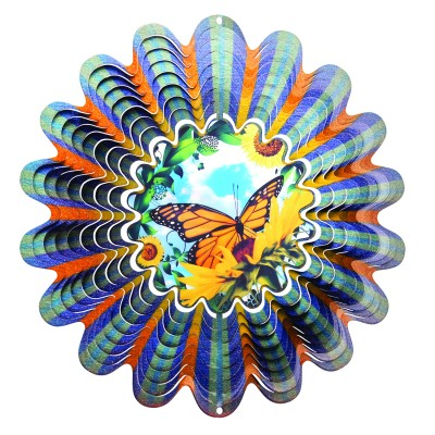 Windspinners Animated collectie Designer Windspinner Animated Butterfly 25cm  (NDA120-10)